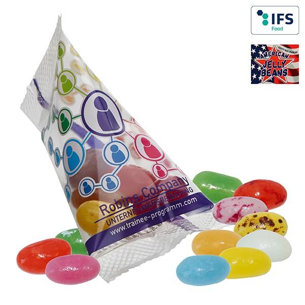 American Jelly Beans im Spitzwerbetütchen